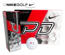 NIKE GOLF(�i�C�L�S���t)�@�S���t�{�[���@1�_�[�X�i12���j�p���[�f�B�X�^���X9 �����O�@�z���C�g�@POWER DISTANCE9 LONG